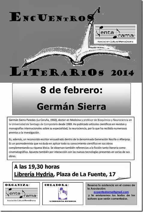 GERMÁN SIERRA, cartel