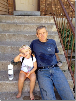 Taking a Break with Papa_touch up