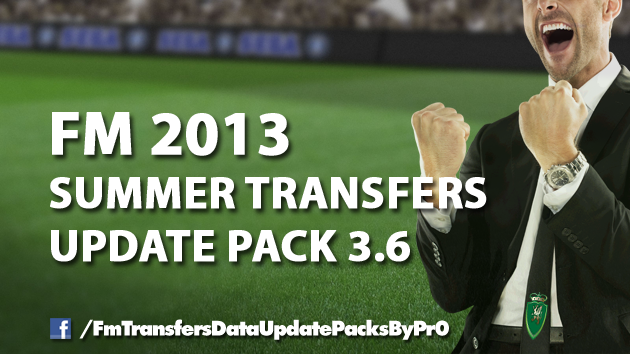 fm13 Summer Transfers Update Pack