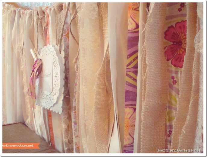 {Northern Cottage} pretty girlie ribbon banner