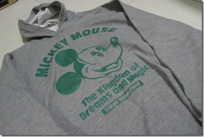 mickey grey hoodies