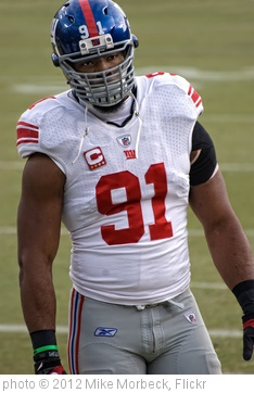 'Justin Tuck' photo (c) 2012, Mike Morbeck - license: http://creativecommons.org/licenses/by-sa/2.0/