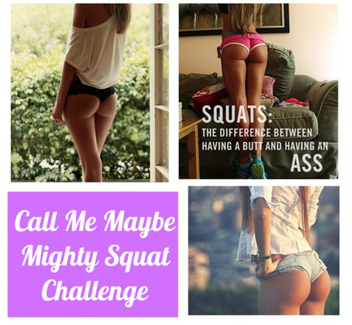 Squat Booty Challenge Before After