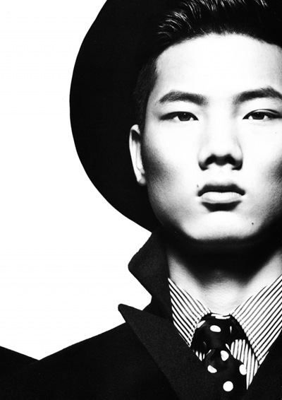Hou Jinxiang @ Esse Models by Yin Chao for Numéro Homme China F/W 2011