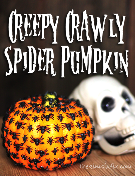 Creepy Crawly Spider Pumpkin