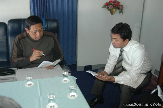 foto keseharian Presiden Indonesia Susilo Bambang Yudhoyono (1)