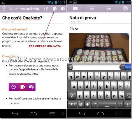 onenote-applicazione-android