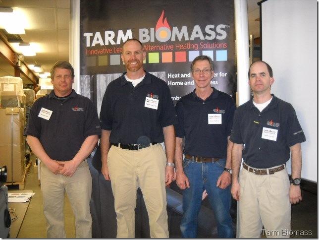 Tarm Biomass Crew