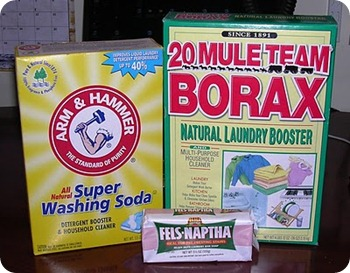 laundry soap three ingredients