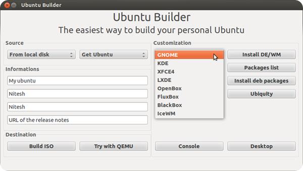 Ubuntu Builder2