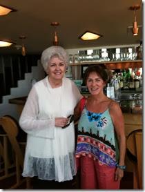 Judy Dillon and me