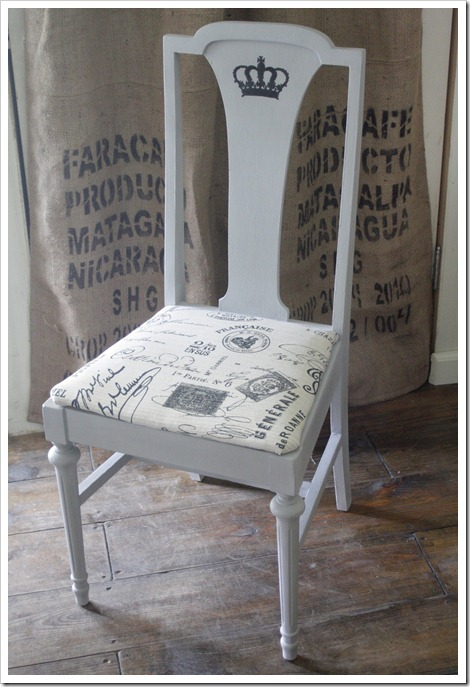 french inspired chair