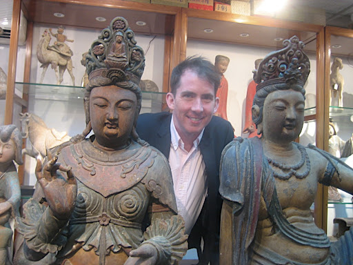 Here I am posing with my ladies at Yung Po Hin Antique Company. You girls are coming home with me.