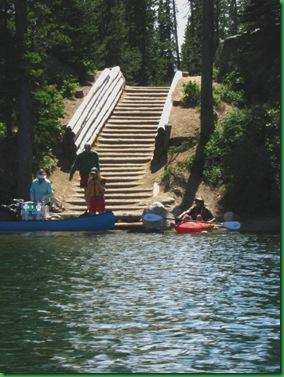 Kayaking the lakes 046A