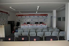 Hier finden die Pressekonferenzen statt