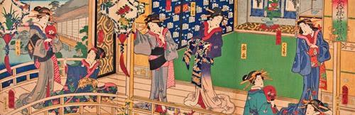 Exposições sobre a arte da gravura no Brasil e no Japão