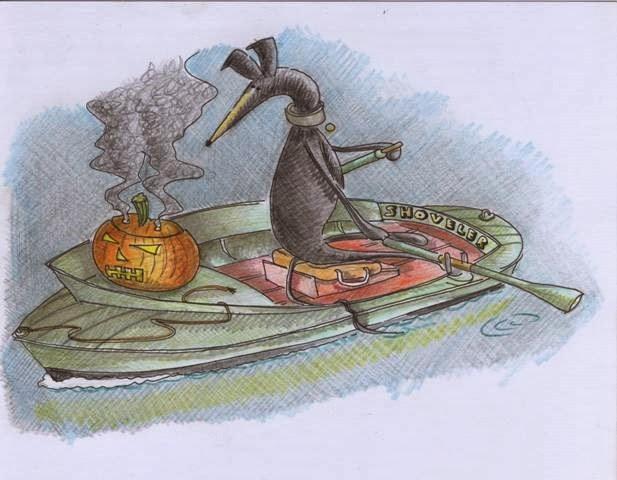 Raven & Pumpkin