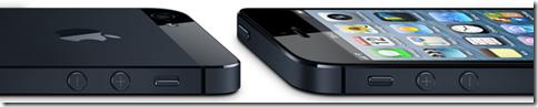 L'iPhone 5 è più alto, meno profondo e più leggero