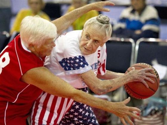 Не стареют душой ветераны баскетбола