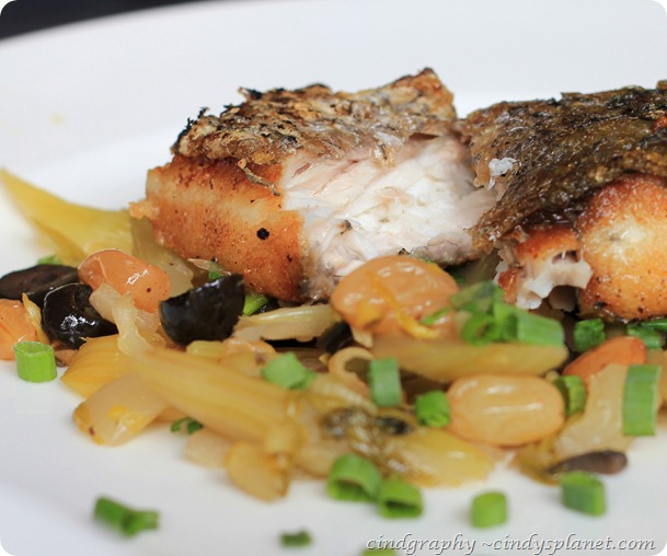 Acme Bar Pan Seared Sea Bass