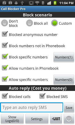 Ultimate Call Blocker Free