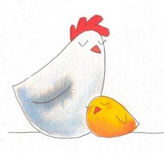 galinha e pintinho