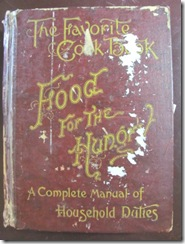 cookbook 1896 from Plympton