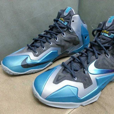 nike lebron 11 gr gamma blue 2 05 Second Look at Upcoming LEBRON 11 Armory Slate / Gamma Blue