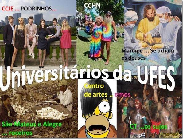 Universitários da UFES