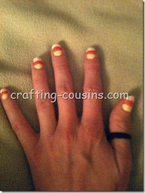 Candy Corn Nails (2)