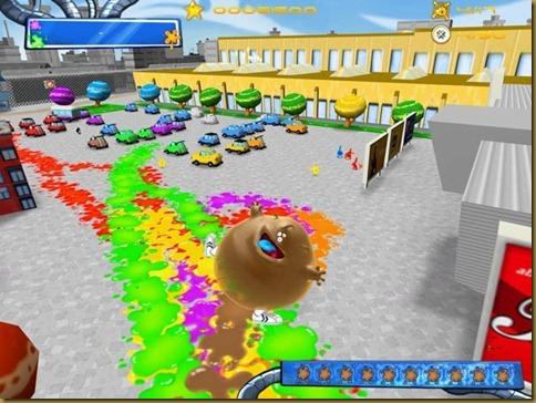 De Blob ゲーム画面02