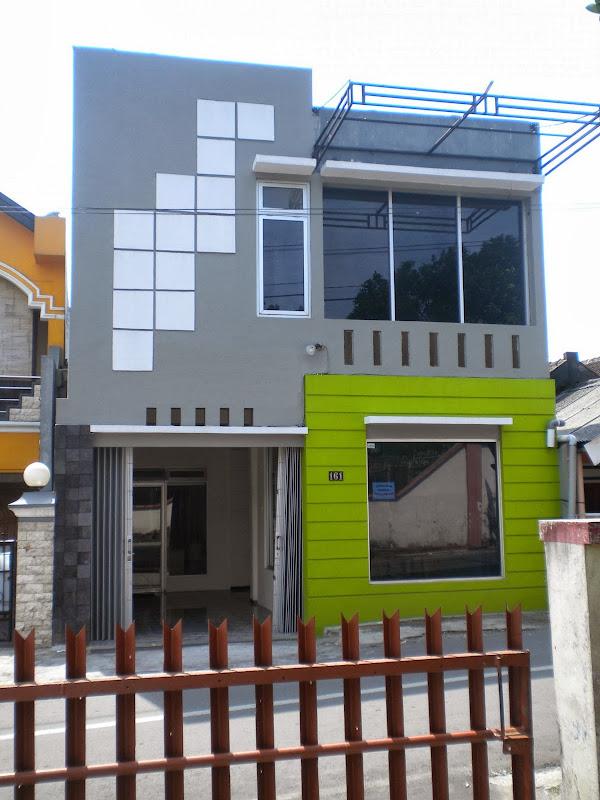 perpaduan warna cat untuk rumah minimalis