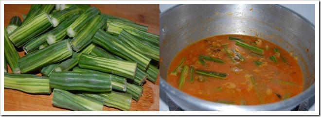 drumstick masala process