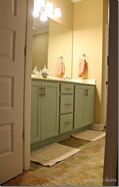 Painted Bath Cabinets