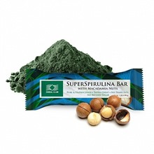 SuperSpirulina Bar with Macadamia Nuts