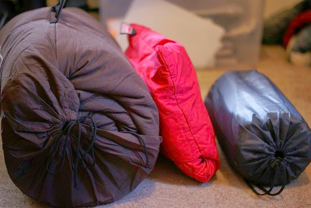care for sleeping bag
