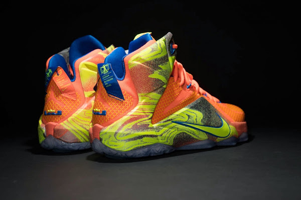 Another Look at 8220Six Meridians8221 Nike LeBron 12