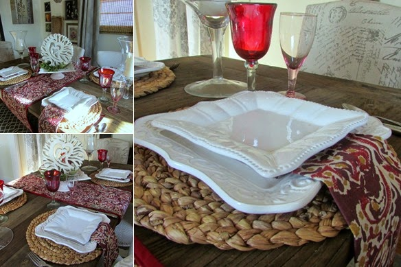 Setting A Valentines Table For Less Money Rustic Refined