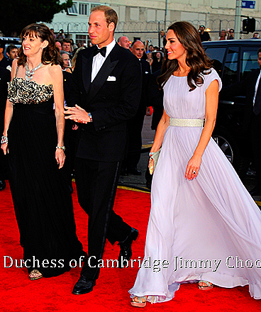 Duchess of Cambridge Catherine Jimmy Choo VAMP in Champagne Glitter CHOO 247, UBAI Champagne Glitter