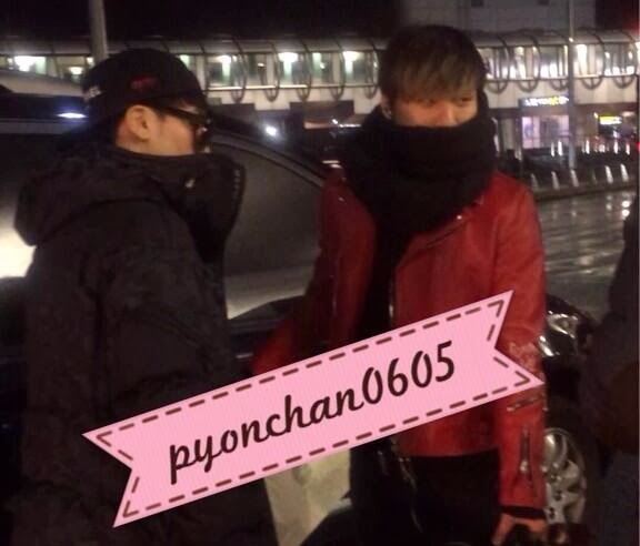 Dae Sung & Seung Ri - Incheon Airport - 09dec2013 - Fan - 01.jpg