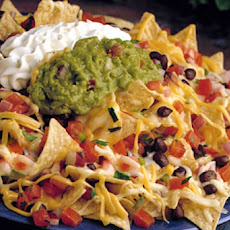 Layered Nacho Guacamole Appetizer