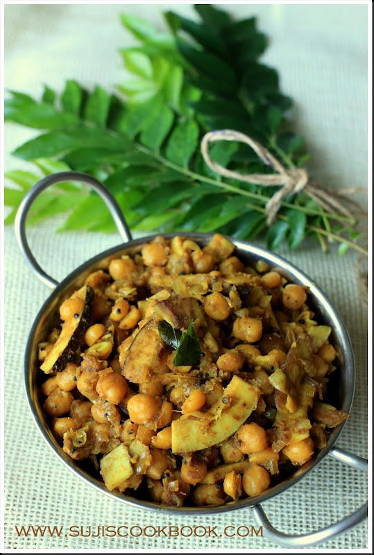 Chana fry with coconut