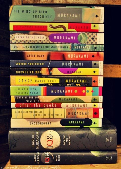 Murakami books