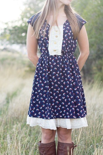 thrift store dress refashion #tagsthrift