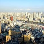 breathtaking view of Tsukiji Fish market in Shinagawa, Tokyo, Japan