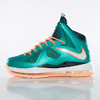 nike lebron 10 gr miami dolphins 3 05 Gallery: Nike LeBron X Miami Setting or Dolphins if you Like