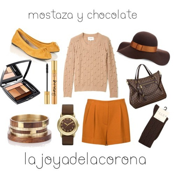 mostaza y chocolate