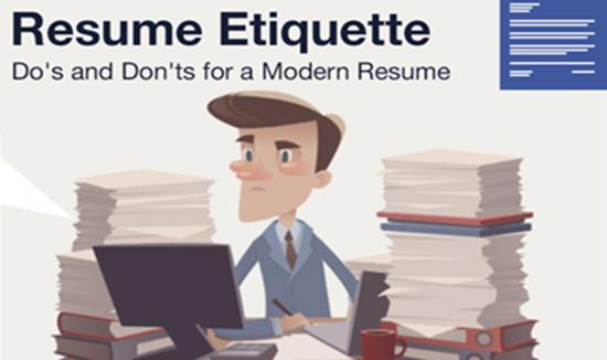 resume etiquette