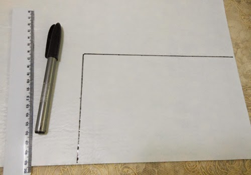 Caderno customizado com feltro autoadesivo