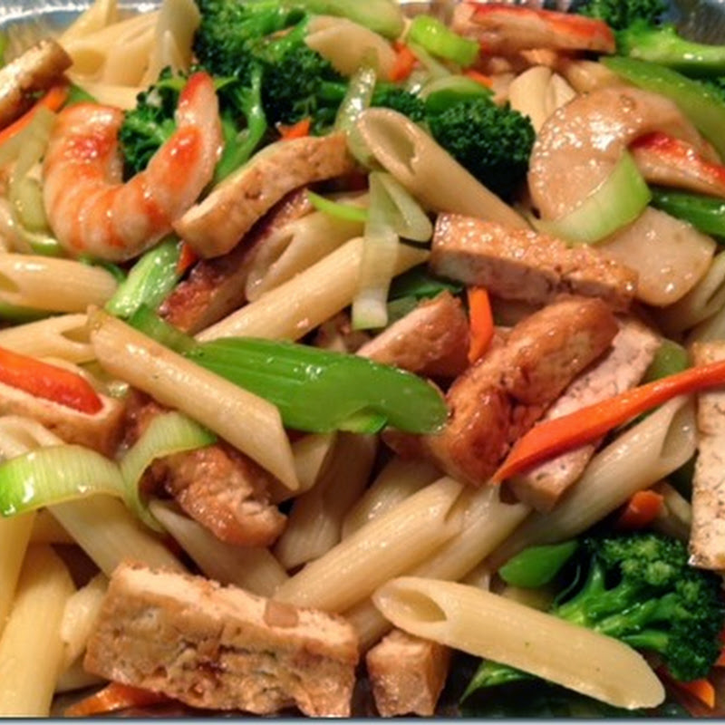 Stir Fried Pasta - Kevin